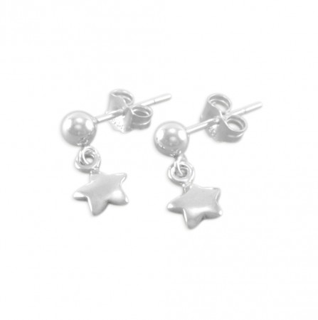 Florence Little Girls Star Earrings
