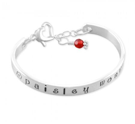 Paisley Monroe Cuff Bangle Bracelet