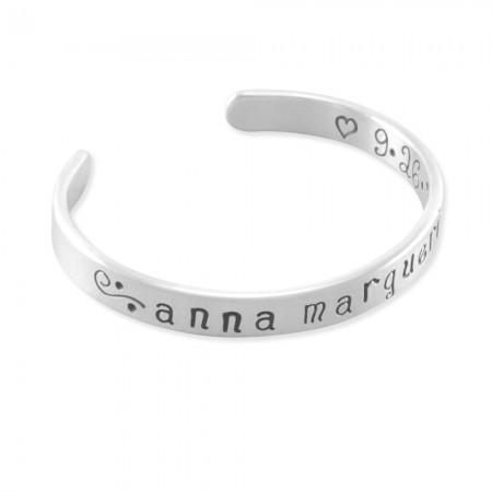 Anna Marguerite Cuff Bangle Bracelet