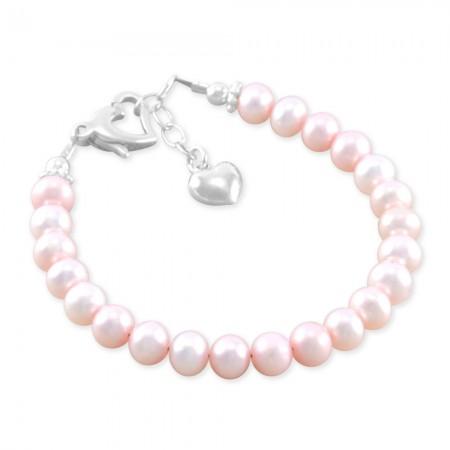 Emma Pink Freshwater Pearl Bracelet