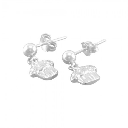 Jayla Little Girls Cupcake Earrings