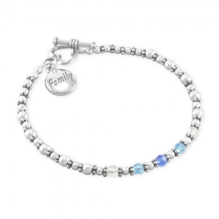 Nancy Family Birthstone Bracelet