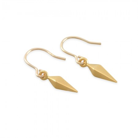 Tamara Gold Spike Earrings