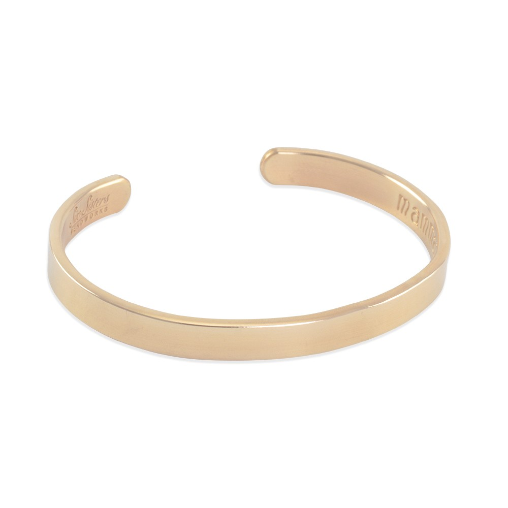 sold org bracelet carved bangles gold bangle on solid vintage