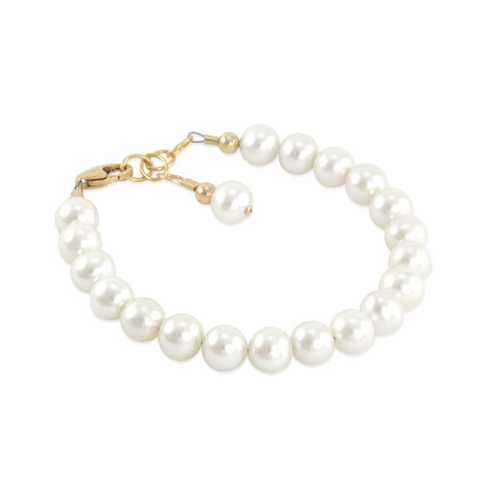 Six Sisters Beadworks Esme First Pearls Baby Girl