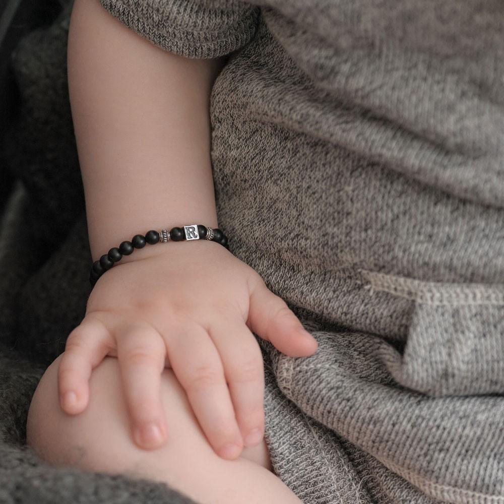 Six Sisters Beadworks Boy Bracelet Sterling Silver