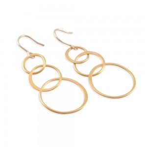 Linda Gold Loop Earrings
