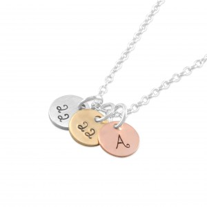 Kara Tiny Disc Necklace
