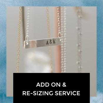 Add On and Re-Sizing Service