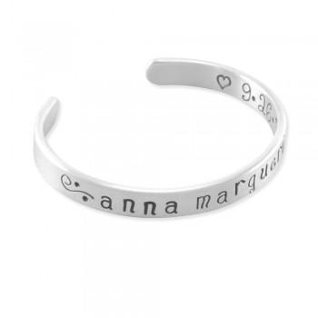 Anna Marguerite Cuff Bangle Bracelet