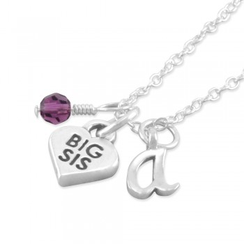 Alexandra Personalized Big Sis Necklace