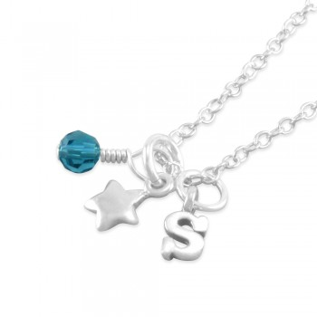 Staci Personalized Star Necklace