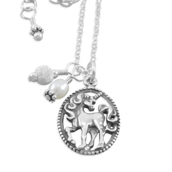 Taylen Unicorn Necklace