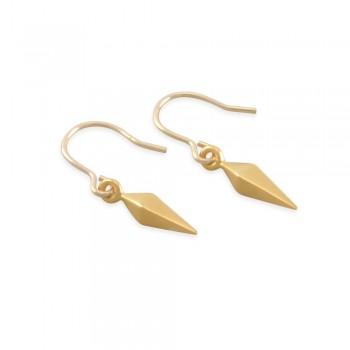 Tamara Gold Spike Earrings