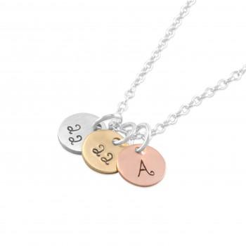 Kara Tiny Disc Necklace