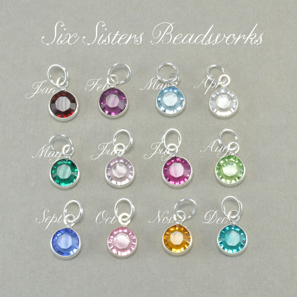 Six Sisters Beadworks Ballerina Hand Stamped Name